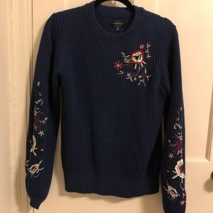 bell-sleeved Lucky Brand sweater